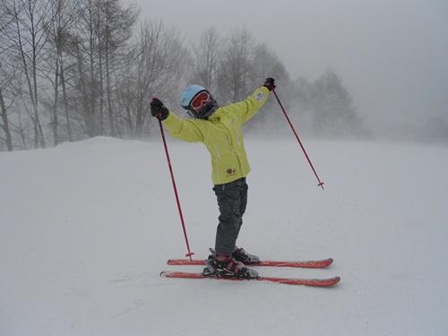 風が強かった|かたしな高原スキー場のクチコミ画像