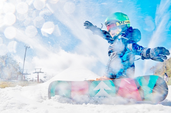 毎年恒例の初滑り|フジヤマ スノーリゾート イエティのクチコミ画像