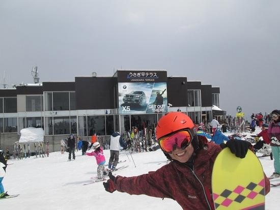 うさぎ平テラスです|白馬八方尾根スキー場のクチコミ画像
