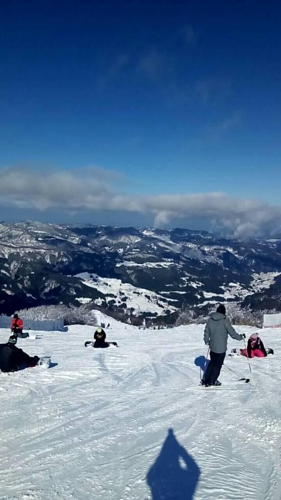 全面滑走可能です|ハチ・ハチ北スキー場のクチコミ画像