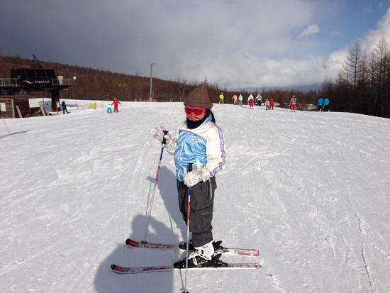 家族スキーにちょうど良いです(*^^)v|サンメドウズ清里スキー場のクチコミ画像