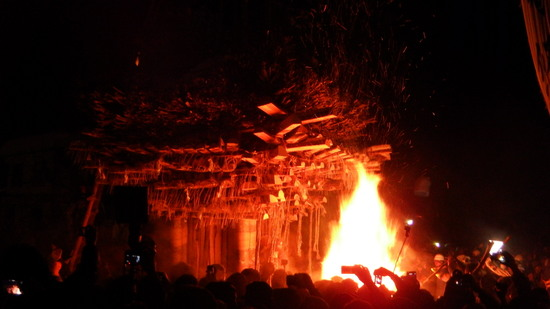 火祭り 野沢温泉スキー場のクチコミ画像