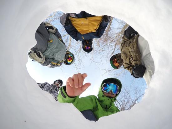 雪の洞窟|グランデコスノーリゾートのクチコミ画像