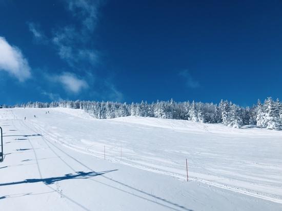 志賀高原でも独特の静かな雰囲気|奥志賀高原スキー場のクチコミ画像2