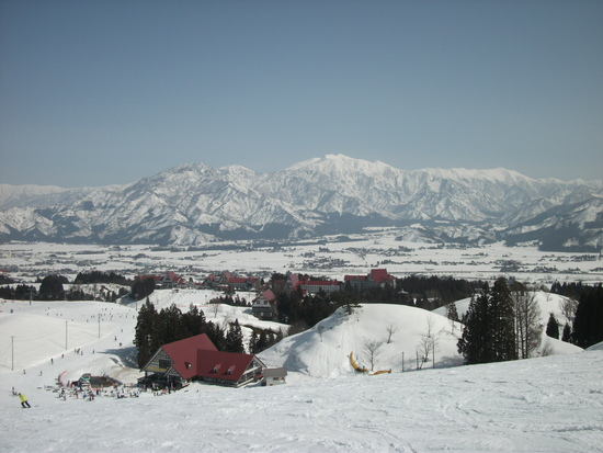 思ったより良い雪質|上越国際スキー場のクチコミ画像