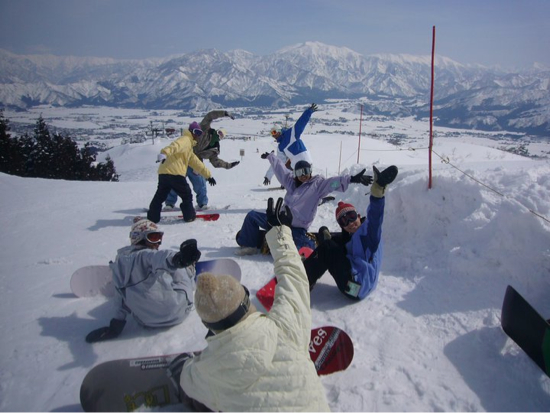景色が良かったです 上越国際スキー場のクチコミ画像