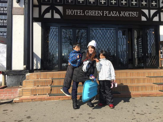 孫がスキーデビュー|上越国際スキー場のクチコミ画像