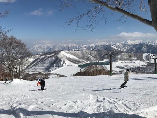 快晴の田代|かぐらスキー場のクチコミ画像