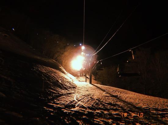 夜の雪質とフォトジェニックが最高!|ダイナランドのクチコミ画像