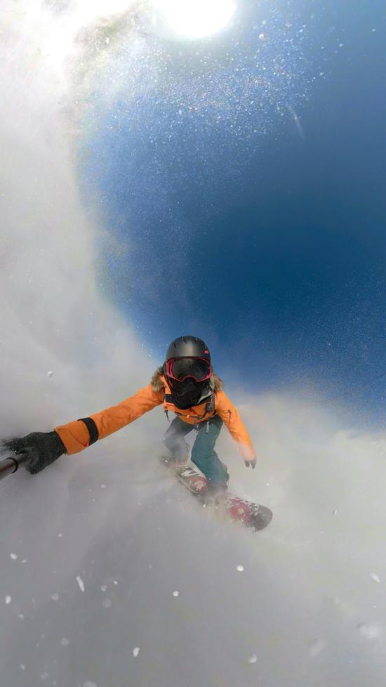 快晴|スキージャム勝山のクチコミ画像