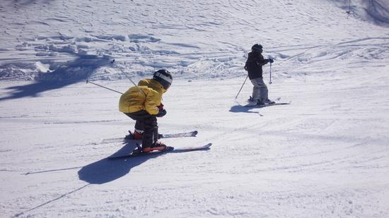 年長さんでも、ほぼ全コース制覇したぞ! スキージャム勝山のクチコミ画像2