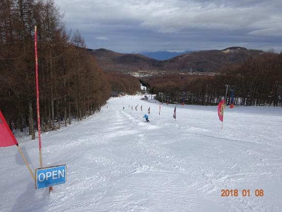 3連休でもリフト待ちの短いスキーヤー天国|ブランシュたかやまスキーリゾートのクチコミ画像