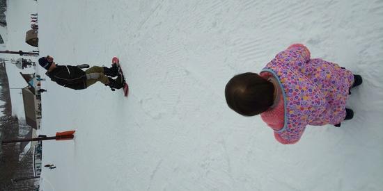 娘の初めての雪体験|ニュー・グリーンピア津南スキー場のクチコミ画像