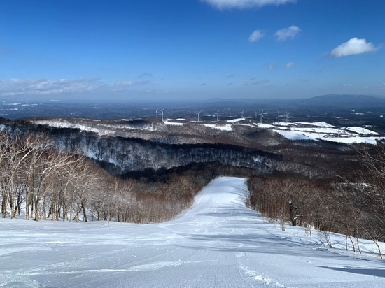 景色最高 奥中山高原スキー場のクチコミ画像2
