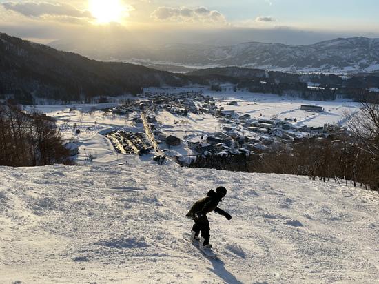 初中上級みんな楽しめるスキー場 野沢温泉スキー場のクチコミ画像