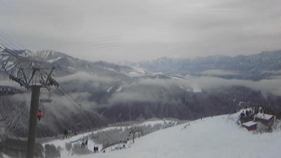 雪不足の中、でかけました|白馬八方尾根スキー場のクチコミ画像