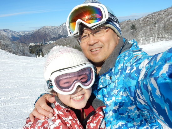 スキーはサイコー!!|湯沢中里スノーリゾートのクチコミ画像1