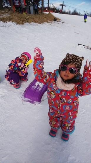 こどもの練習へ|サンメドウズ清里スキー場のクチコミ画像