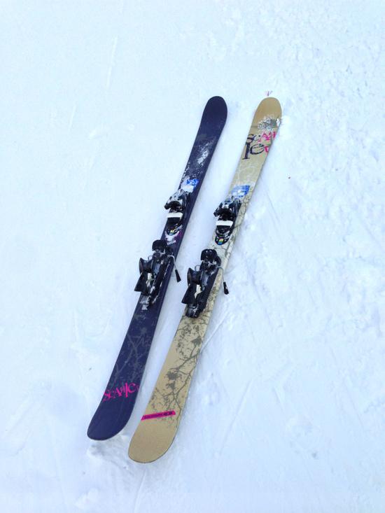 エキスパートレンタルでいろんなスキー板にトライ|パルコールつま恋スキーリゾートのクチコミ画像2