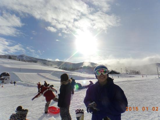 新年の一発目|スキージャム勝山のクチコミ画像1