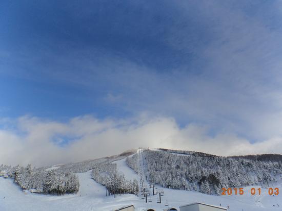 新年の一発目|スキージャム勝山のクチコミ画像3