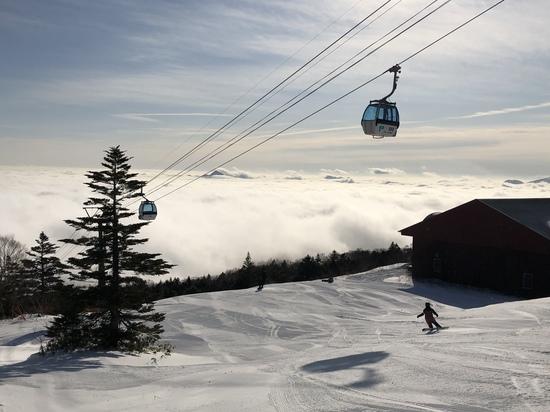雲海に樹氷まで見れました!!|パルコールつま恋スキーリゾートのクチコミ画像