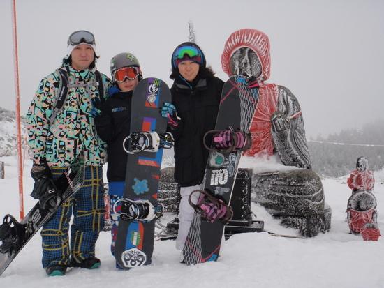 初滑り×××|蔵王温泉スキー場のクチコミ画像
