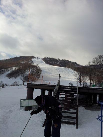 初滑り!|かぐらスキー場のクチコミ画像