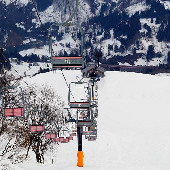 スパイシーチキンカレー。|さかえ倶楽部スキー場のクチコミ画像3