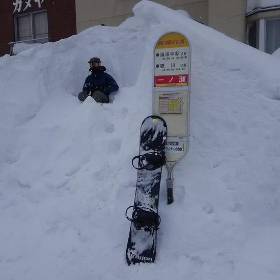 志賀高原のバス停|志賀高原リゾート中央エリア(サンバレー〜一の瀬)のクチコミ画像