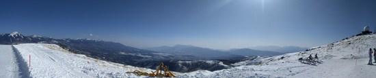 一人で練習。コース広し、滑り応えあり|車山高原SKYPARKスキー場のクチコミ画像2