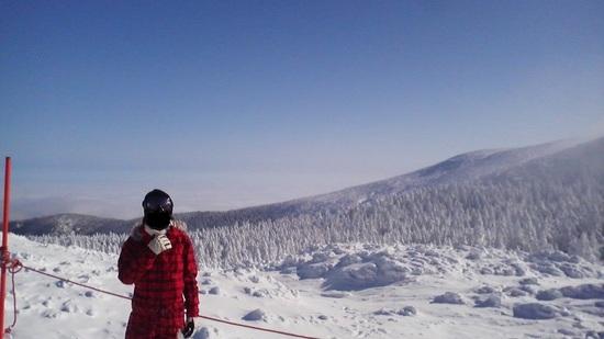 樹氷は絶景!|蔵王温泉スキー場のクチコミ画像
