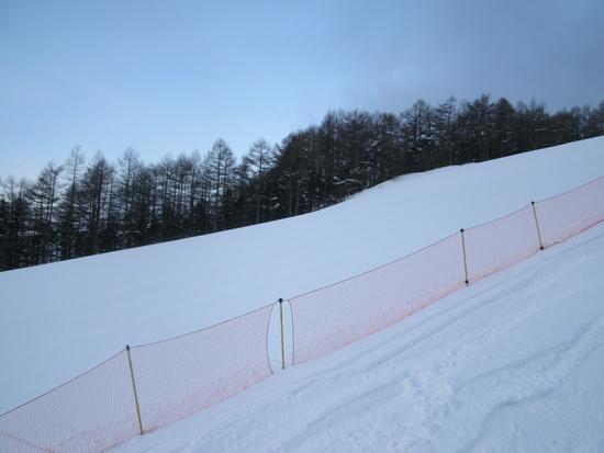 早朝からオープンで空いていました|湯の丸スキー場のクチコミ画像