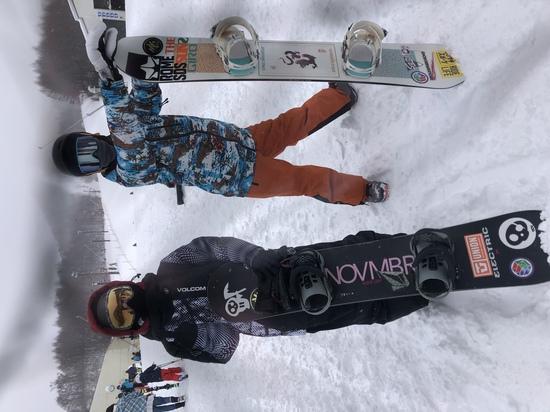 初滑り 星野リゾート 猫魔スキー場のクチコミ画像1