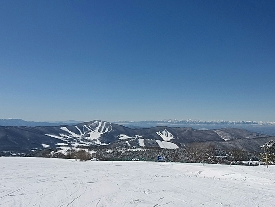 爽快な青空の菅平でした。|菅平高原スノーリゾートのクチコミ画像