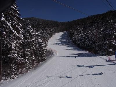 冬型で人少なげ|信州松本 野麦峠スキー場のクチコミ画像