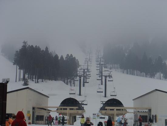 3つの大きなゲレンデがあるスキー場|スキージャム勝山のクチコミ画像