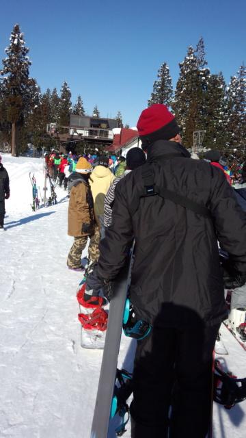 混雑 上越国際スキー場のクチコミ画像