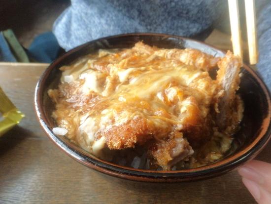 ロッジTENのカツ丼|神鍋高原 万場スキー場のクチコミ画像1