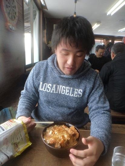 ロッジTENのカツ丼|神鍋高原 万場スキー場のクチコミ画像2