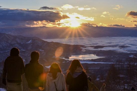 初日の出|妙高杉ノ原スキー場のクチコミ画像