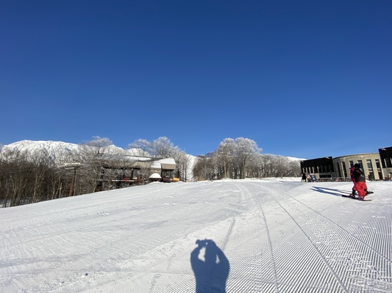 快晴!|白馬岩岳スノーフィールドのクチコミ画像