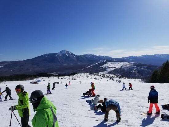 絶景のスキー場|車山高原SKYPARKスキー場のクチコミ画像