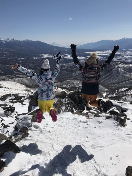 絶景のスキー場|車山高原SKYPARKスキー場のクチコミ画像2