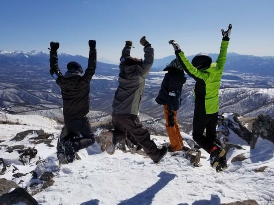 絶景のスキー場|車山高原SKYPARKスキー場のクチコミ画像3