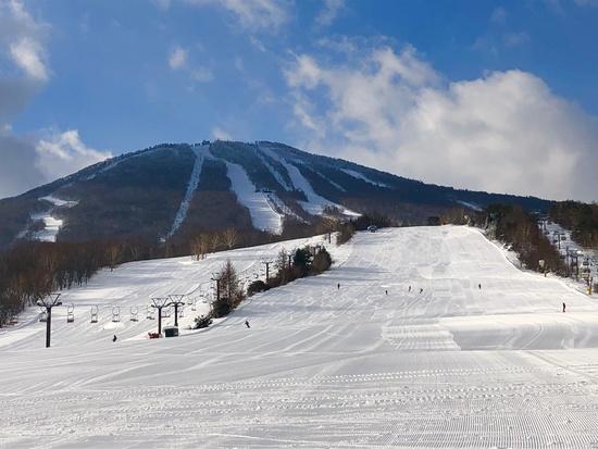 フラットな斜面 安比高原スキー場のクチコミ画像