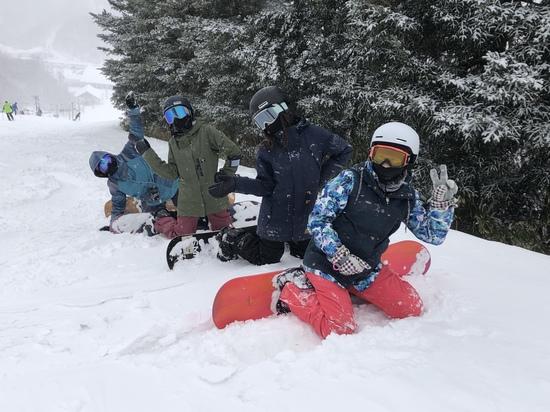 流石の圧雪コース。|斑尾高原スキー場のクチコミ画像