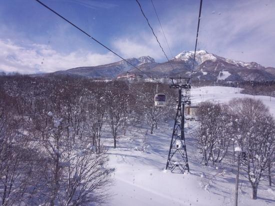 気持ちいい日でした|赤倉観光リゾートスキー場のクチコミ画像
