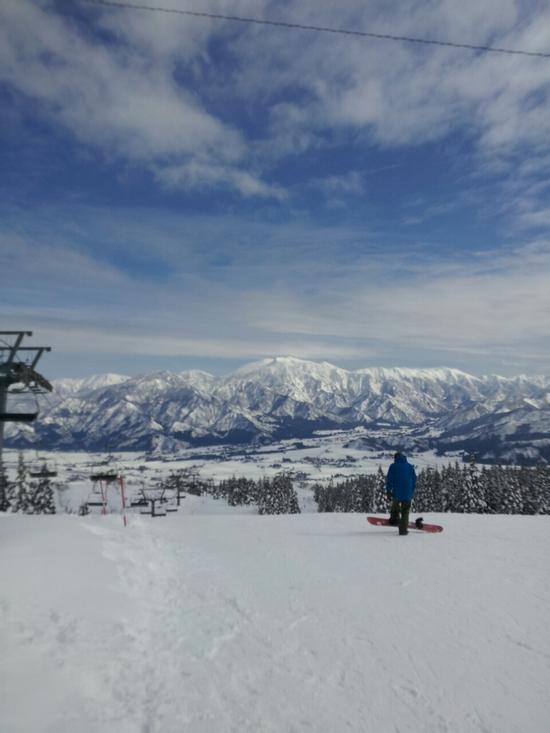 湯沢2日目 快晴|上越国際スキー場のクチコミ画像