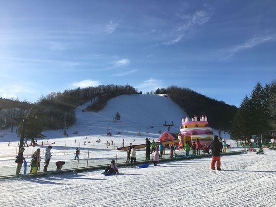 今シーズンは雪不足? 草津温泉スキー場のクチコミ画像